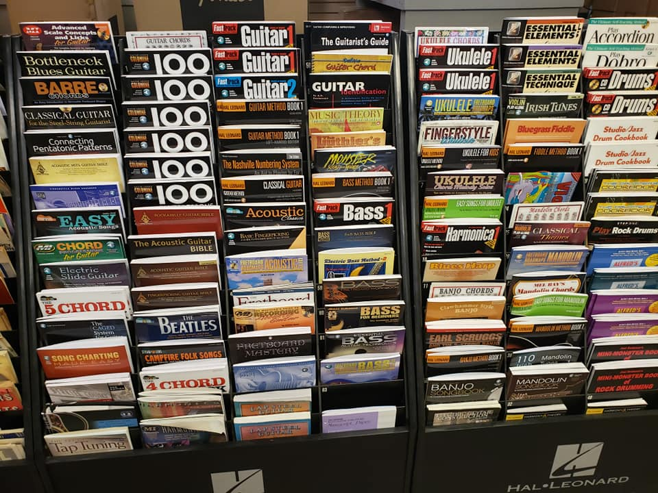 music books back in stock at go music man